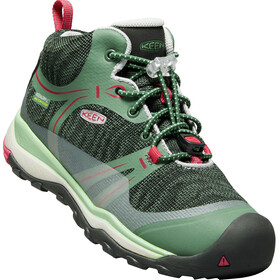 Keen Junior Terradora WP Mid Shoes duck green/quiet